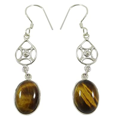 925 Pure Silver Carnelian Gemstone Traditional Dangle Earring Jewellery Gift For Her 8qYvd54Jf