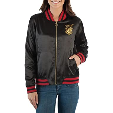 good looking soft and light look for Amazon.com: Bioworld Harry Potter Hogwarts Juniors Bomber ...