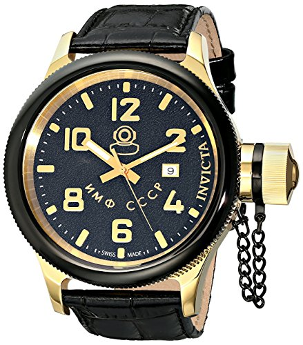 Invicta Men's 12425 Russian Diver Black Dial Stainless St...