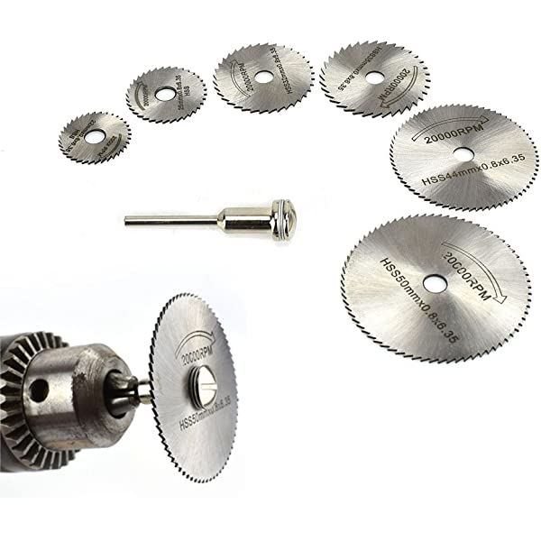 25mm Metalworking Wood Saw Blade Disc Cut off Wheel Power Rotary Craft Tool Set