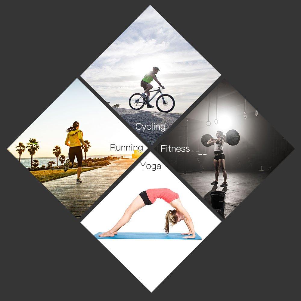 Lixada Sport Sweatbands Running Ciclismo Yoga Fitness Fasce Umidit/à Assorbente Sweat Band Head Wrap Sport Wristband