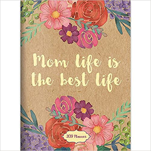 Mom Life Is The Best Life Monthly Planner por Tf Publishing epub