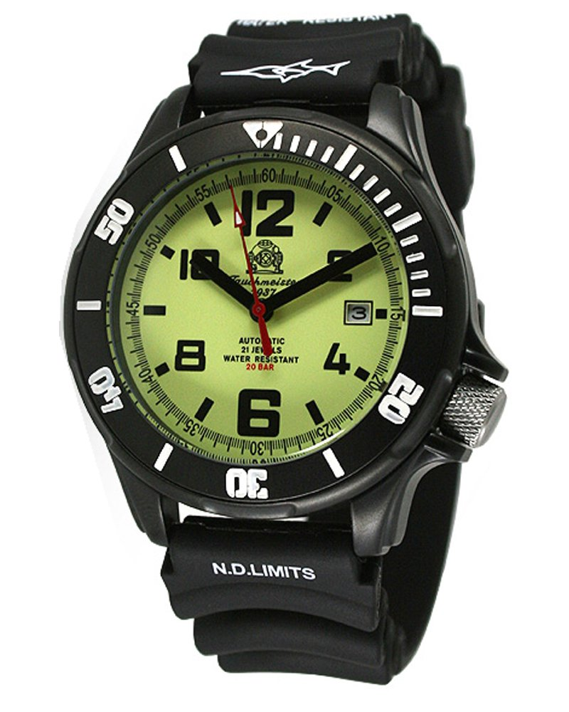 """Tauchmeister Diver watch """"Japan Miyota AUTOMATIC"""" 21jewels T0222"""