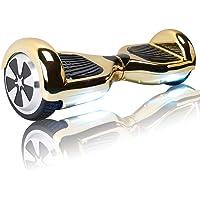 """TOEU Hoverboard Scooter eléctrico Ruedas de 6.5"""", Leds"""