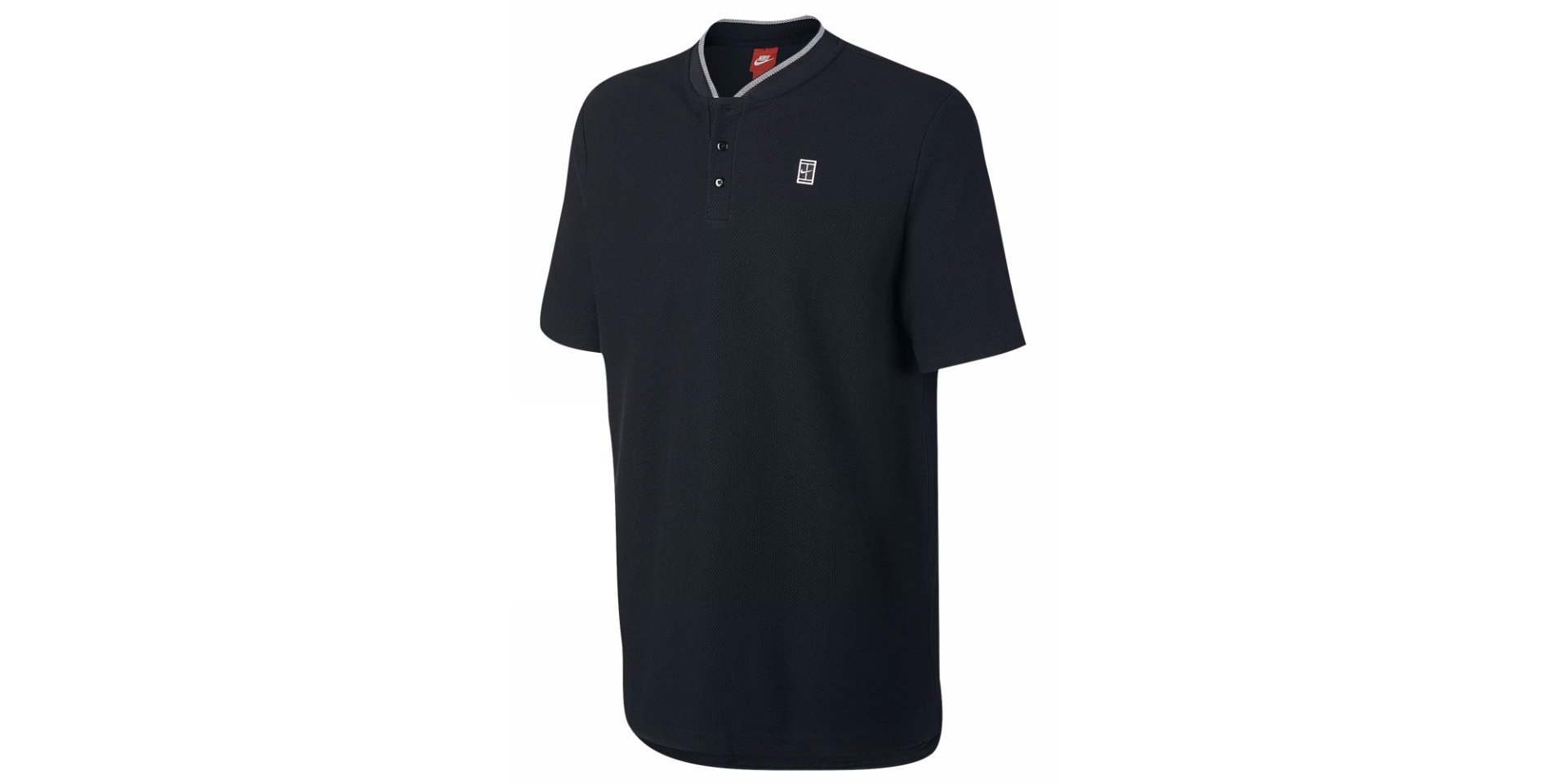 Nike Court Men's Tennis Cotton Polo Shirt Top, 830923-010,Black , Size XL