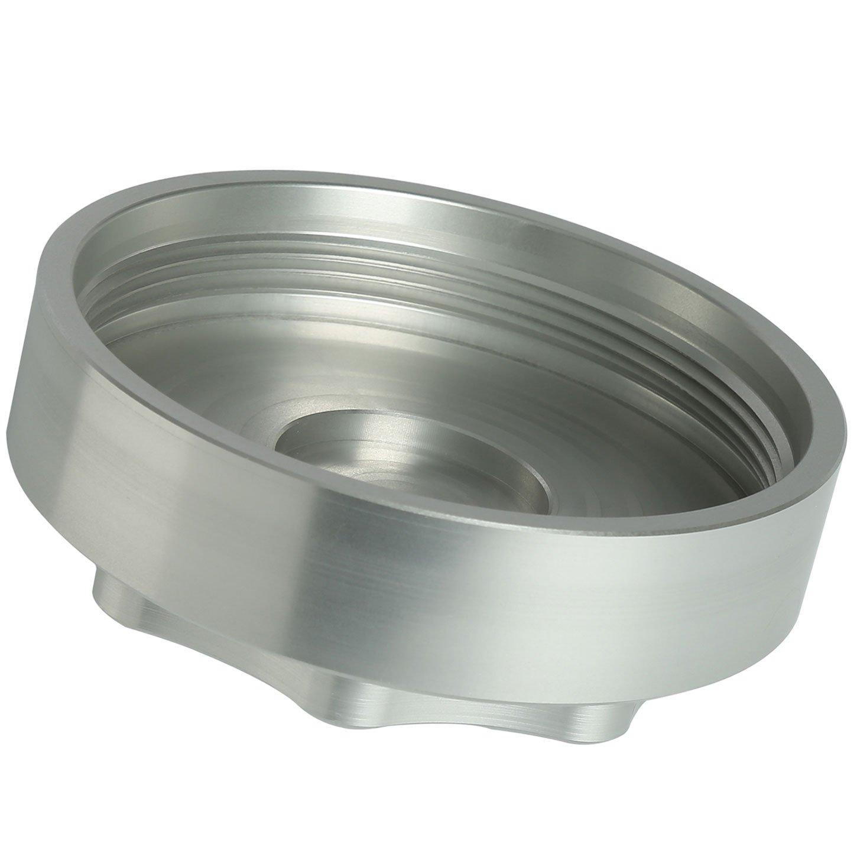 Billet Aluminum Fuel Filter Housing Cap for 6.7L Cummins Diesel Engine