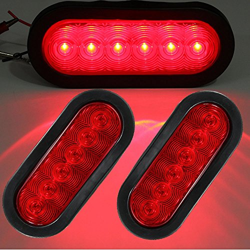 6 Oval Led Lights - 8