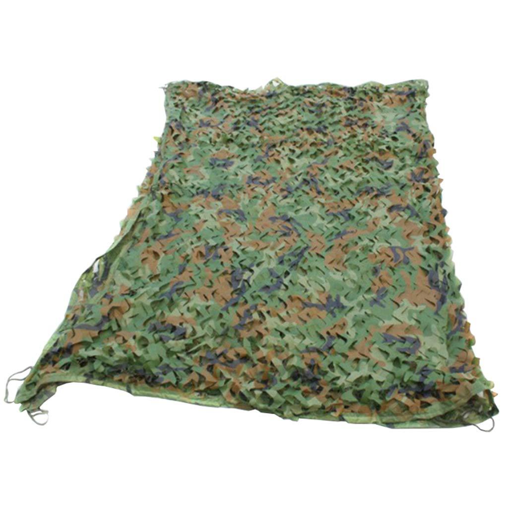 8M×10M YFF-BÂche Filets de Camo Militaires Tissu Oxford en Crème Solaire Filets de Camouflage Filet de Treillis Militaire avec des Cordes pour Le Tir Chasse Camping Cacher