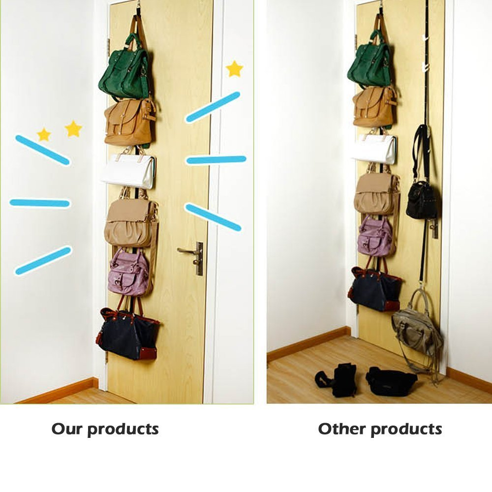 Gorra de béisbol para almacenamiento. Se puede utilizar para dos habitaciones después de la puerta. Excelente soporte organizador de almacenamiento de ...