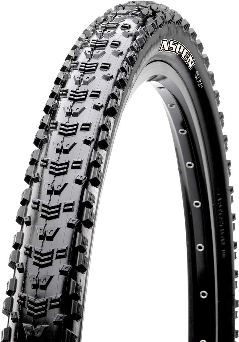 "Maxxis Aspen 29x2.25/"" Tubeless Ready Folding Tire 120tpi Dual Compound EXO Black"