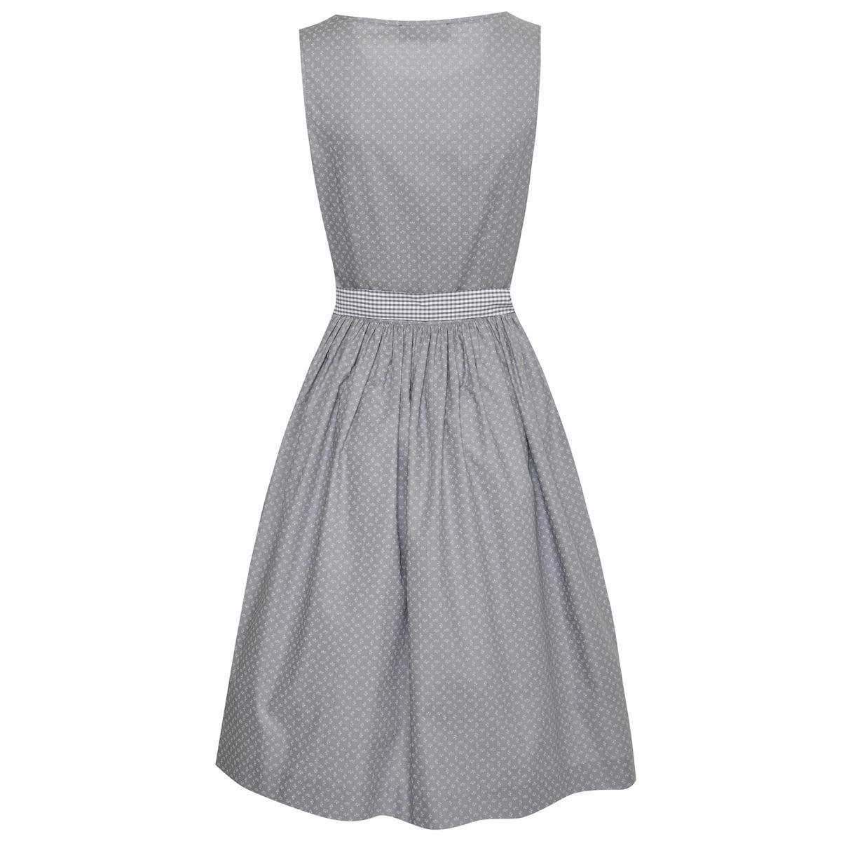 9cf2338e329 Berwin und Wolff Damen Trachten-Mode Kleid Elicia in Grau traditionell