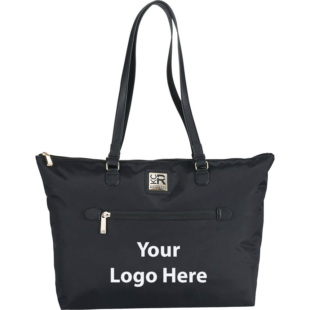 Kenneth Cole Nylon 15'' Computer Tote - 6 Quantity - $69.00 Each - PROMOTIONAL PRODUCT / BULK / BRANDED with YOUR LOGO / CUSTOMIZED