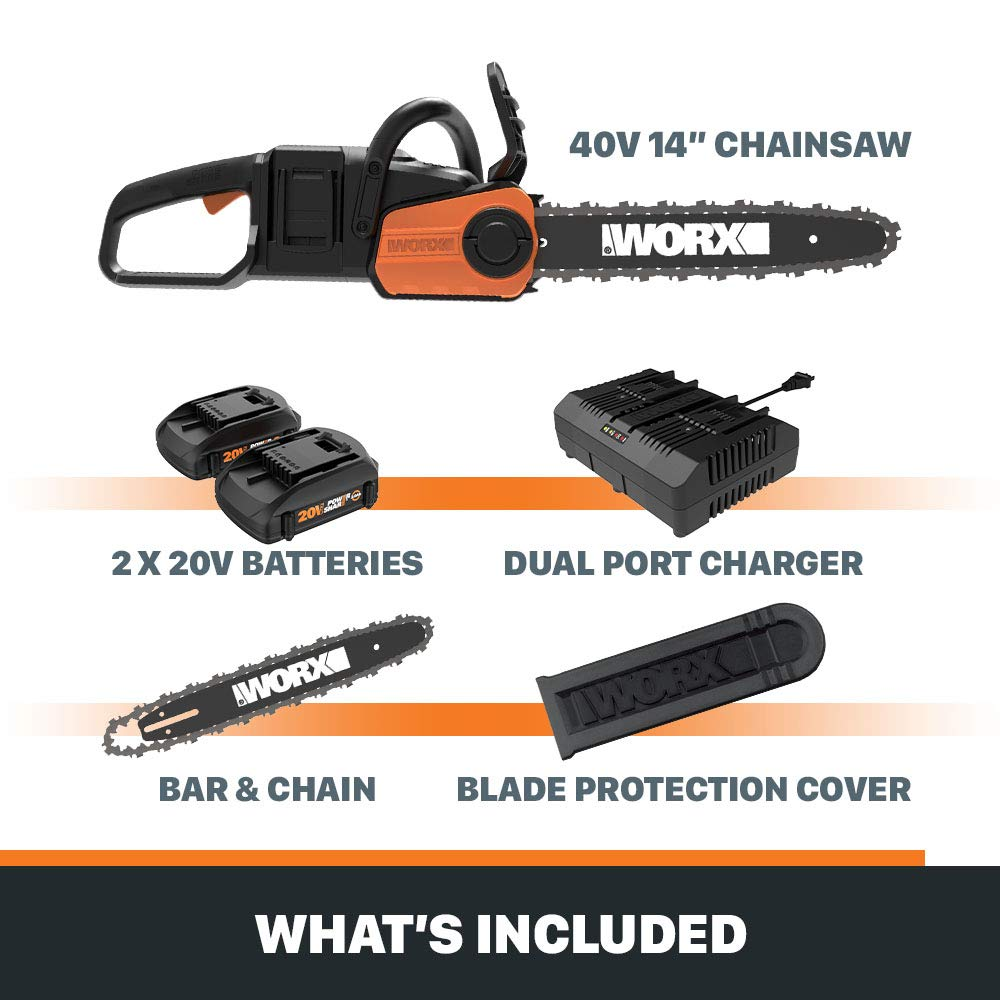 WORX WG384 Chainsaws product image 6