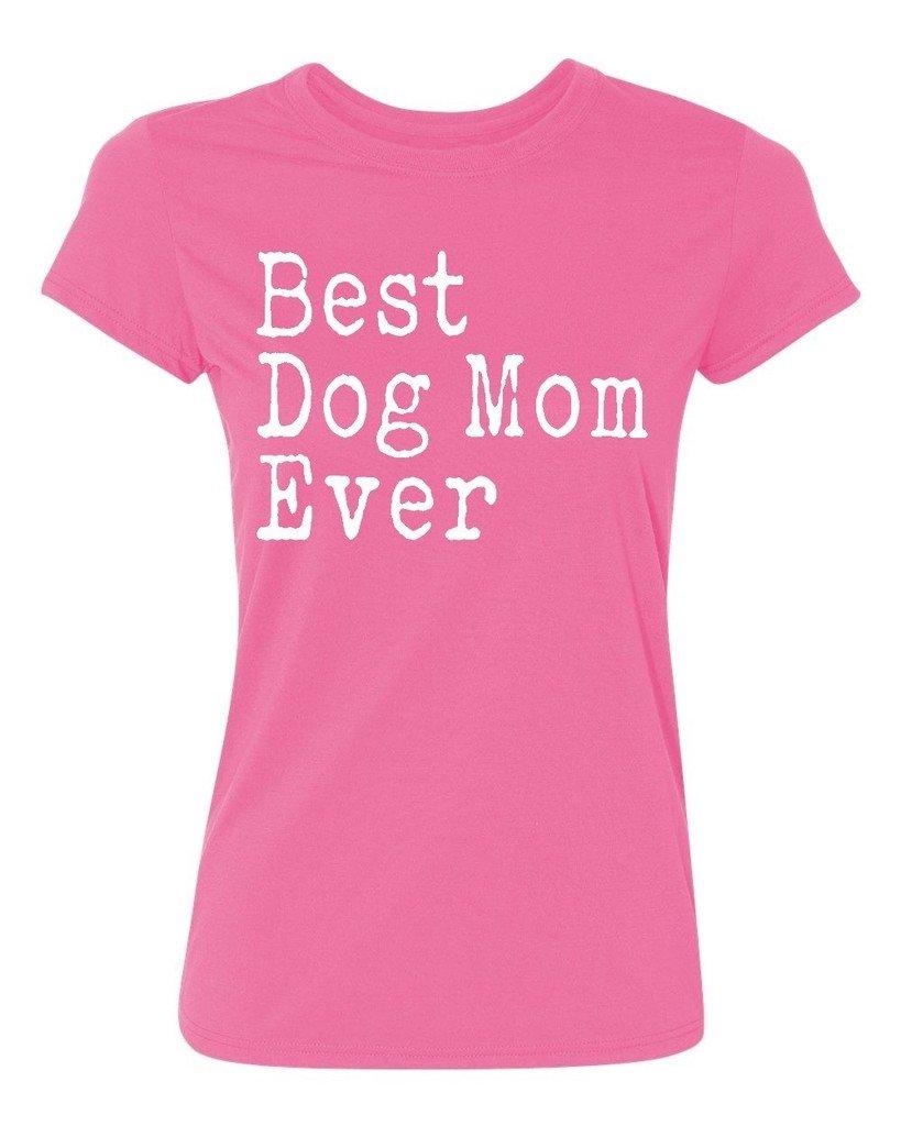 P B Best Dog Mom Ever T Shirt 7030