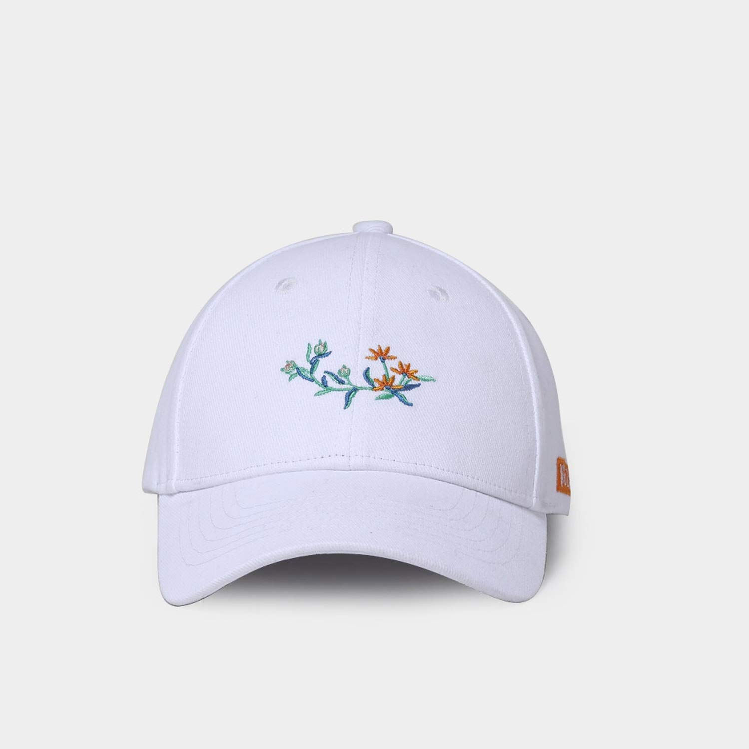PREtty-2 Women Baseball Cap Cotton Spring Summer Bone Caps Fashion Embroidery Small Flowers Hat