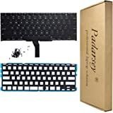 Padarsey New Laptop Black US Backlit Backlight Keyboard with 80 Pces Screws fits for MacBook Air A1370 A1465 11-Inch 2011 2012 2013 2014 2015 MD711 MD712 MD223 MD224 MC968 MC969