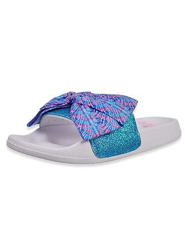 Amazon com | Ground Up Intel JoJo Siwa Girls' Slide Sandals | Sandals