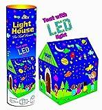 Toyshine Play Tent House with Led Lights, Big Size