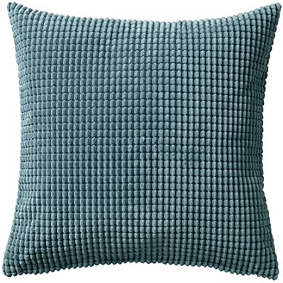 IKEA GULLKLOCKA – Funda de cojín, gris 20 cm por 20