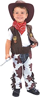 Toddleru0027s Cowboy Costume With Bandana u0026 Hat  sc 1 st  Amazon.com & Amazon.com: Forum Novelties Cowboy Kid Costume Toddler Size: Toys ...