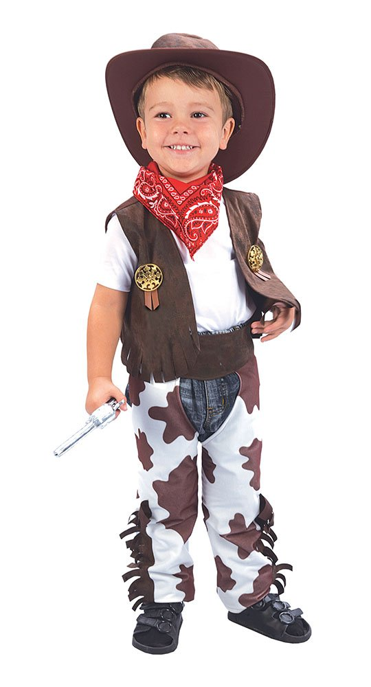 Bristol Novelty Cowboy Toddler Costume Age 2 -3 Years CC016
