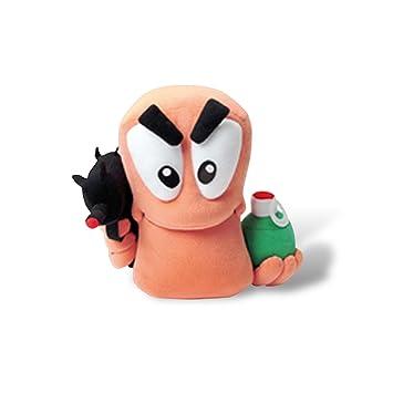 Worms - muñeco de peluche de Boggy - con partes extraíbles, regalo gracioso para los