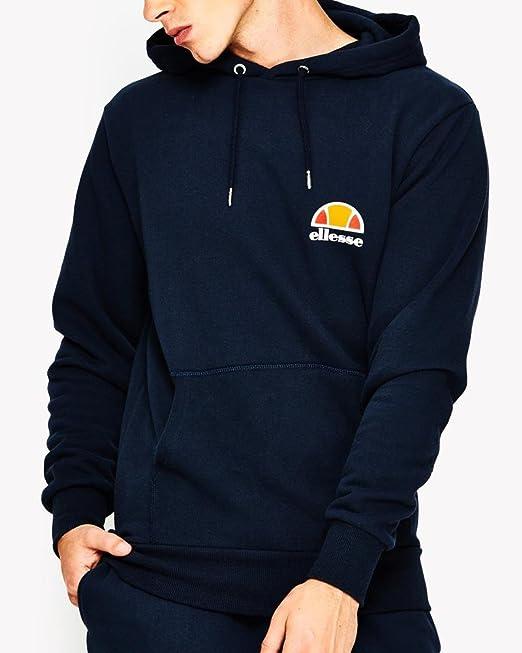 503f39f9 Ellesse Men's Toce Left Logo Hoodie, Blue: Amazon.ca: Clothing ...