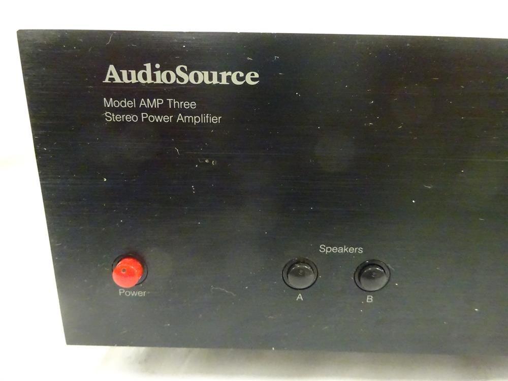 amazon com audiosource model amp three electronics rh amazon com