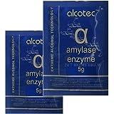 2袋 x アルコテック製アルファアミラーゼ酵素サシェ5g
