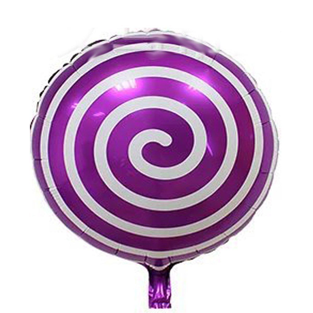 Round Lollipop Balloon Birthday Wedding Party Balloons FBA0101 AnnoDeel 12 pcs 18 Sweet Candy Balloons