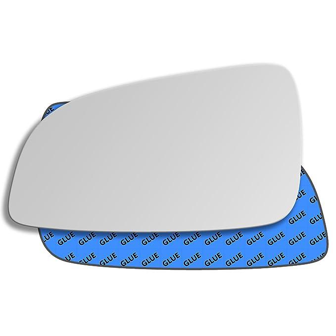 Hightecpl 18LS Left Passenger Side Convex Door Wing Mirror Glass