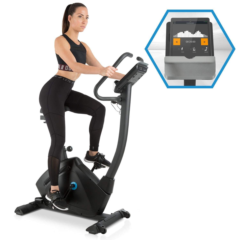 Capital Sports Evo • Ergometer • Heimtrainer • Blautooth • magnetisches Bremssystem mit 32 Leveln • App-Integration • Option bis 21 kg Schwungmasse • Tablet-Halterung • Pulssensor
