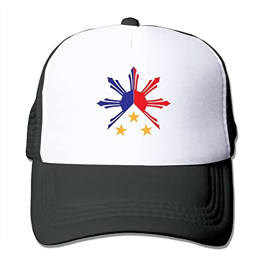 56386d6b7 Adult Baseball Cap, Tribal Philippines Filipino Sun and Stars Flag ...