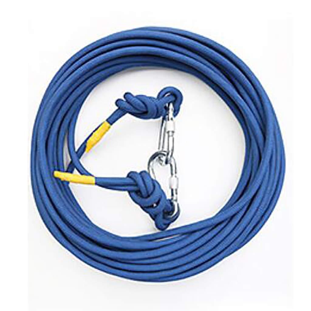 B ZPWSNH Corde Ligne de Vie Corde de sécurité d'urgence à la Maison Corde de sécurité diamètre de Fil diamètre de Fil 10mm 3mm de différentes Tailles Couleur en Option Corde d'escalade 10M