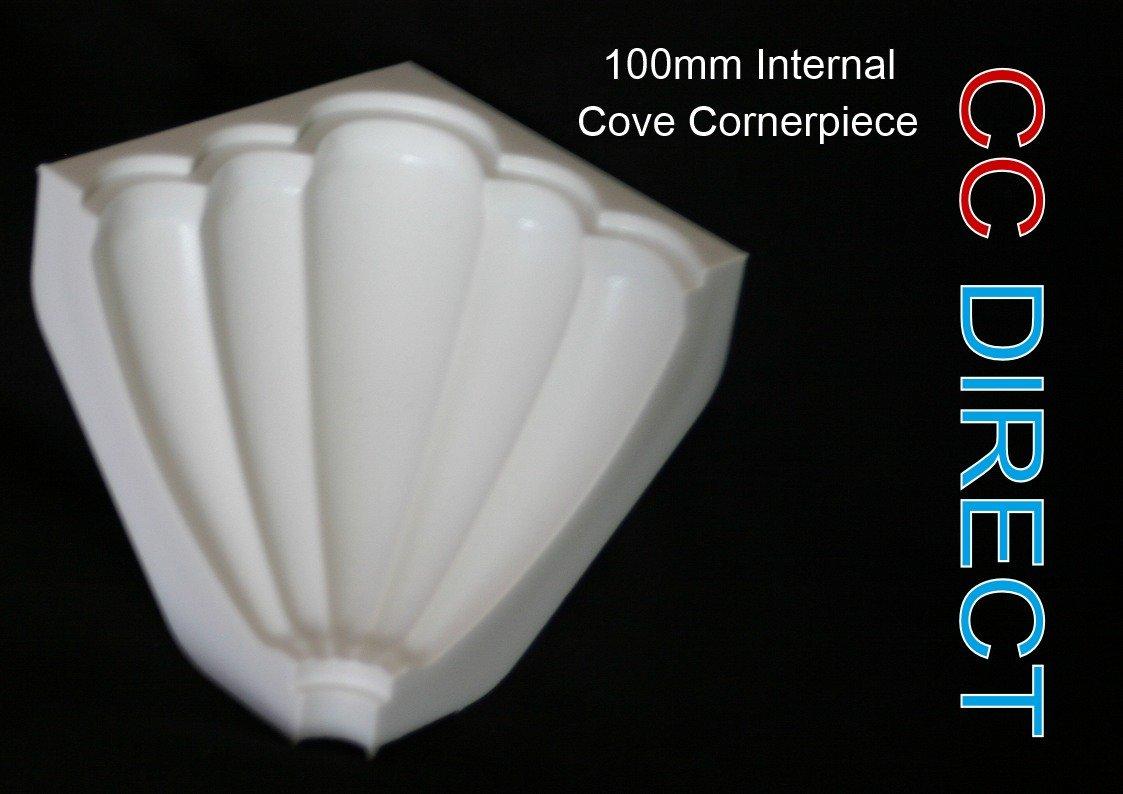 100mm Internal Cove Cornerpiece (X2) Mainline DIY Ltd