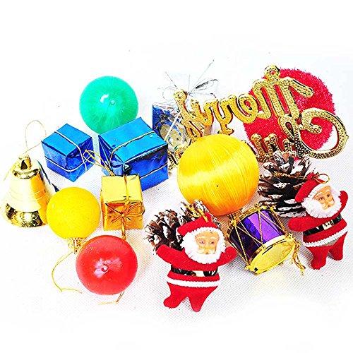 MeineBeauty クリスマスツリーの飾り 15種類のペンダント クリスマスツリー飾りの商品画像