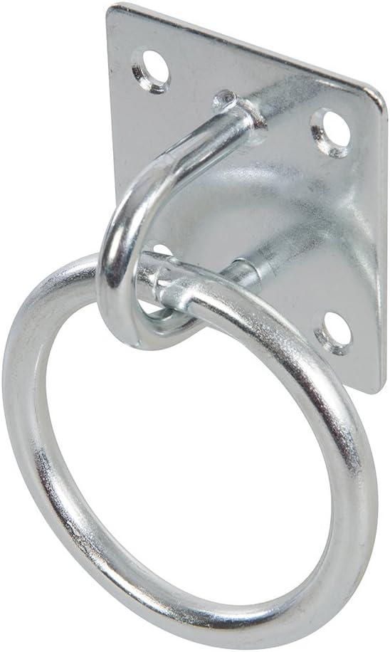Fixman 566783 Chain Plate Galvanised Staple 50mm x 50mm EG