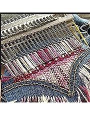 Small Loom, Small Loom-Speedweve Type Weave Tool, Multi-Craft Creative DIY Weaving Loom, for Beginners Wooden Loom (Large 28-pin)