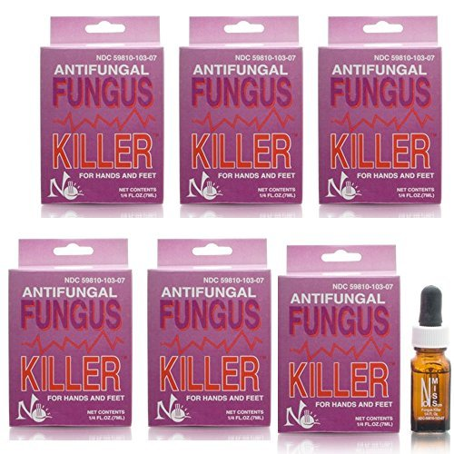 No Miss Antifungal Fungus Killer 1/4oz/7ml - Made in USA (6 pieces) by No Miss