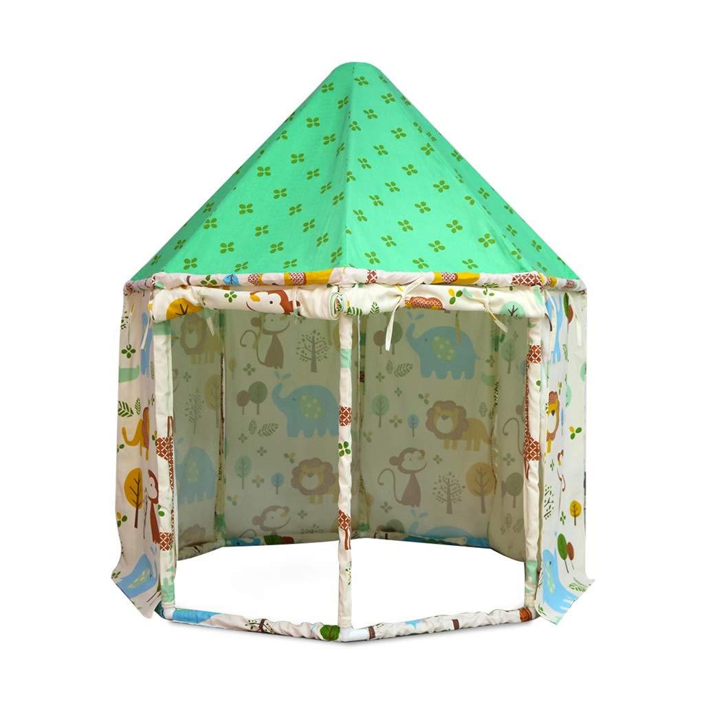 Kinderzelt Spielzelt Kinder Spielzeug Haus Home Home Home Kinder Pop Up  Zelt Spielhaus Kinderzimmer Innenzelt Schloss Geschenk Für Kinder  Spielzelte (Farbe ...