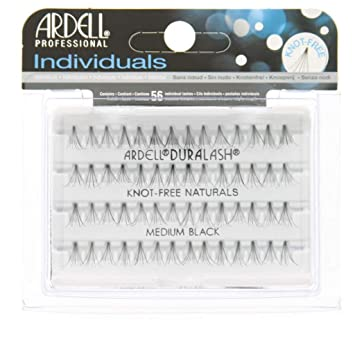 342d3174673 Amazon.com : Ardell Duralash Naturals Flare Medium Black (56 Lashes) (3  Pack) : Beauty
