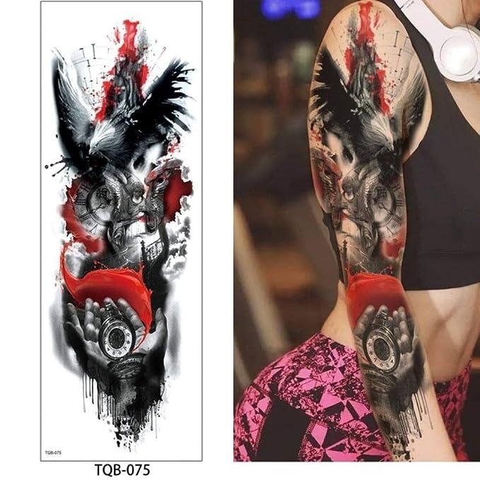 tzxdbh 3 Unids-Tattoo Pegatinas para Hombres y Mujeres ...