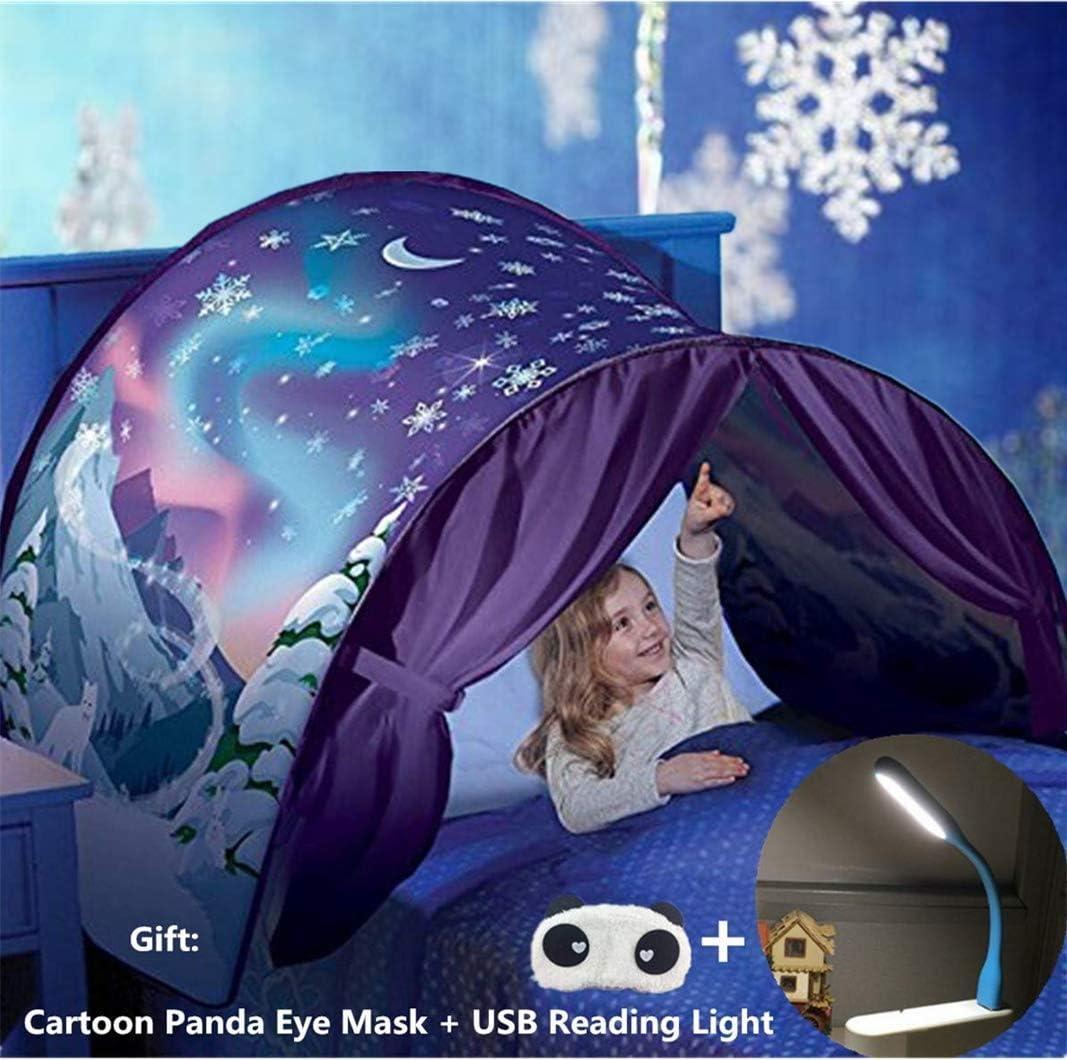 Tente De Lit ,Tente de R/êve Enfants ,Dream Tents,Tente Playhouse de,Tente Pop Up ,Tente De Jeu Cadeaux de No/ël pour Garcon Fille
