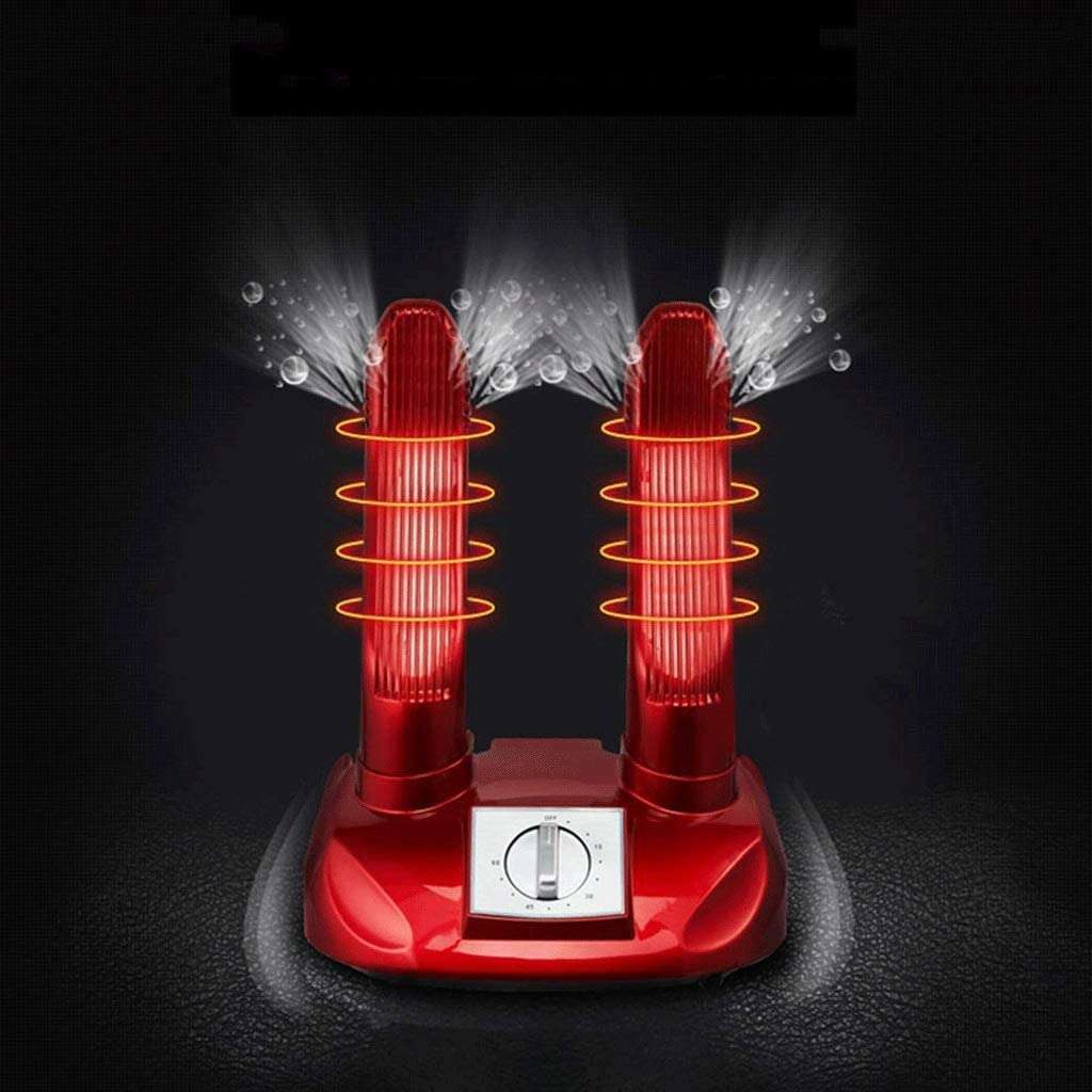LXHGJ Shoes Dryer Shoes Deodorizer Ultraviolet Sanitizers Ozone Sterilization Warm Dryer