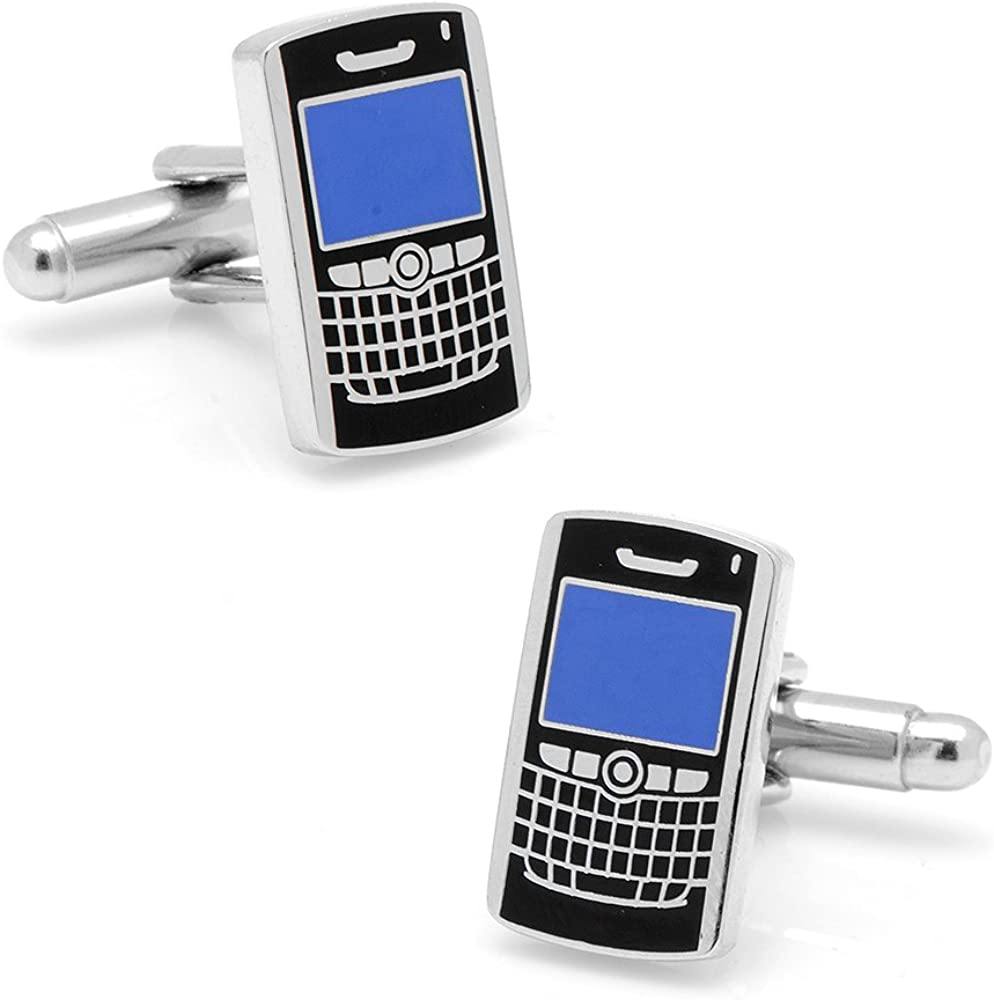 Cufflinks Inc Mens PDA Smartphone Cufflinks