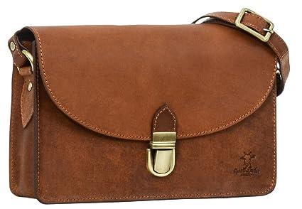 "44e277b2374c Gusti Leder studio ""Zoey"" Genuine Leather Handbag Ladies Cross-Body  Shoulder Bag Casual"