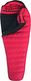product image for Western Mountaineering Apache MF 15F Degree Down Sleeping Bag - Long/Left Zip - Cranberry