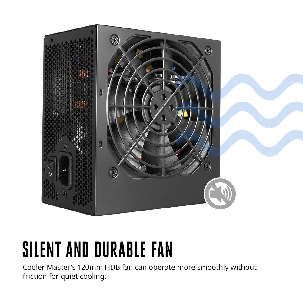 MasterWatt Lite 500W 80 Plus Power Supply by Cooler Master (Image #2)