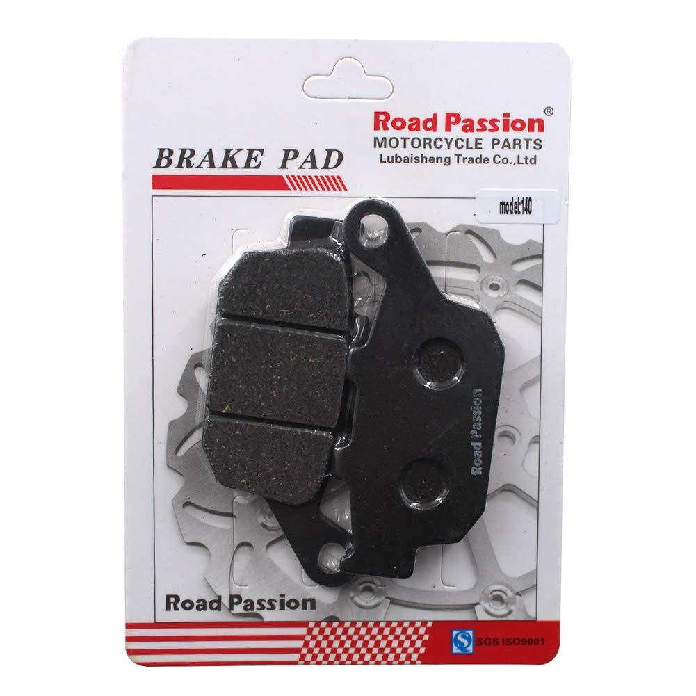 Road Passion Pastillas de Freno Trasero para XL 700 Transalp 2 Piston Front Caliper//ABS on Rear Disc 2008-2013//XRV 650 J//K Africa Twin1988-1989//XRV 750 Africa Twin1990-2003