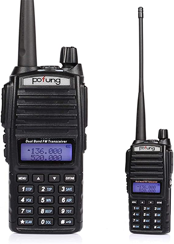 BAOFENG UV-5R VHF//UHF Dual Band Two Way Ham Radio Transceiver Walkie Talkie Hot